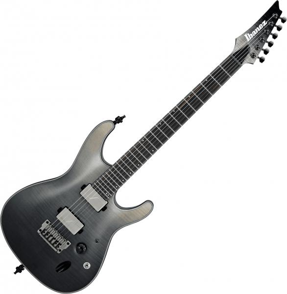 Guitare électrique solid body Ibanez S61AL BML Axion Label - black mirage gradation low gloss