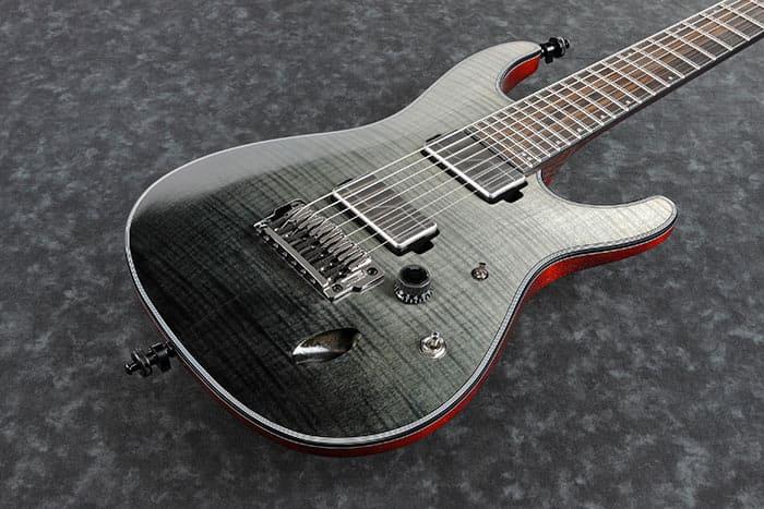 Guitare  U00e9lectrique Solid Body Ibanez S71al Bml Axion Label