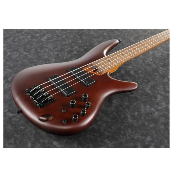 Basse électrique solid body Ibanez SR500E SDB Standard - brown mahogany