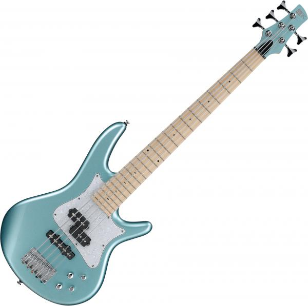Basse électrique short scale Ibanez SRMD205 SPN Mezzo - Sea foam pearl green