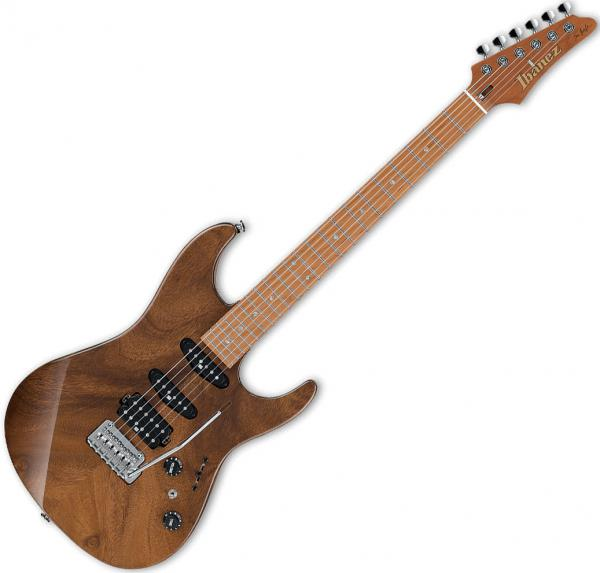Guitare électrique solid body Ibanez Tom Quayle TQM1 NT Japan - natural