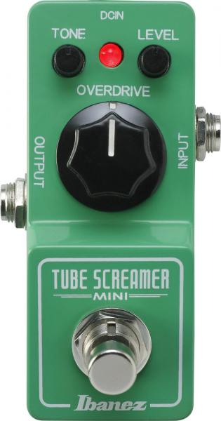 Pédale overdrive / distortion / fuzz Ibanez Tube Screamer TS Mini