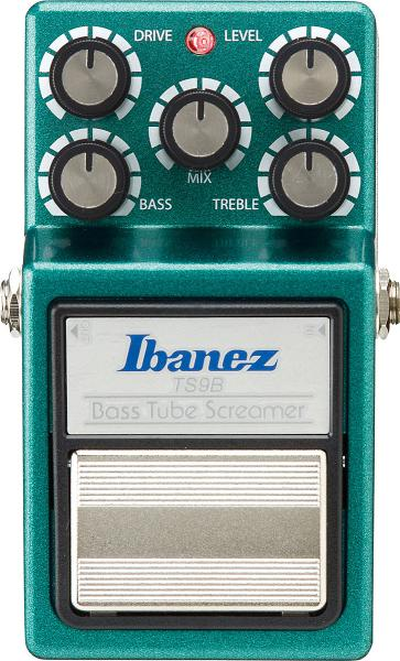 Pédale overdrive / distortion / fuzz Ibanez Tube Screamer TS9B Bass