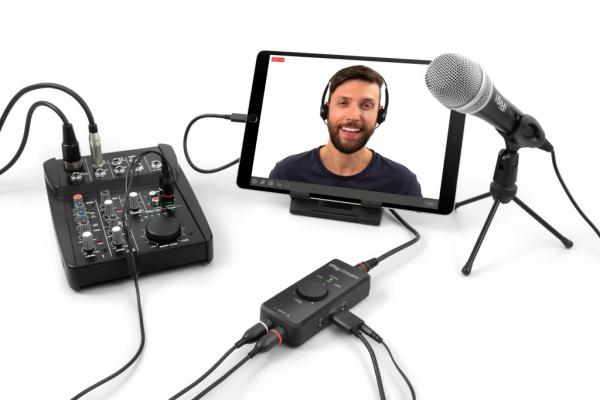 Interface audio tablette / iphone / ipad Ik multimedia IRig Stream