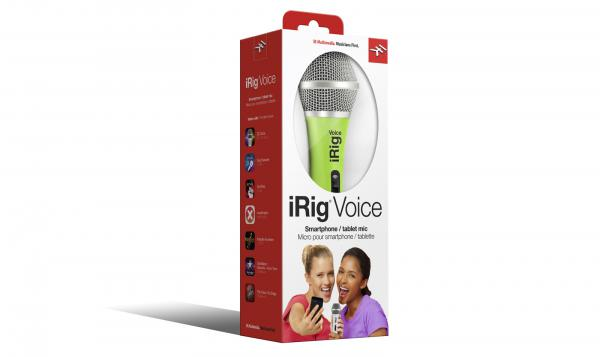 Micro usb & smartphone Ik multimedia iRig Voice Green