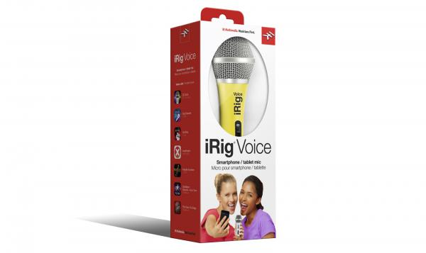 Micro usb & smartphone Ik multimedia iRig Voice Yellow