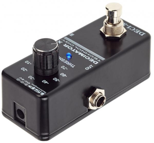Pédale compression / sustain / noise gate  Isp technologies DECI-MATE Micro Decimator