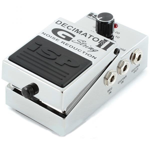 Pédale compression / sustain / noise gate  Isp technologies Decimator G-String II Noise Reduction