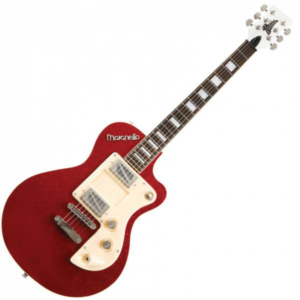 Guitare électrique solid body Italia Maranello Classic MKII - red sparkle