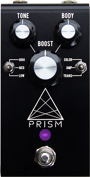 Pédale volume / boost. / expression Jackson audio Prism Black Booster