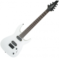 Guitare électrique baryton Jackson Dinky Arch Top DKA JS32-7 - Snow white