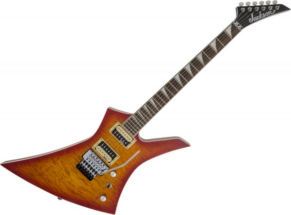 Guitare électrique solid body Jackson Kelly KEXQ - Cherry burst