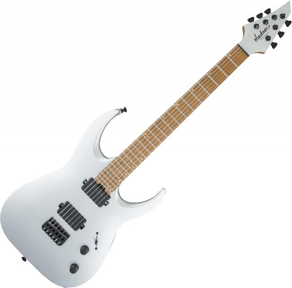 Guitare électrique solid body Jackson USA Signature Misha Mansoor Juggernaut HT6 - satin silver