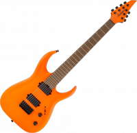 Guitare électrique solid body Jackson Pro Series Misha Mansoor Signature Juggernaut HT7 - Neon orange