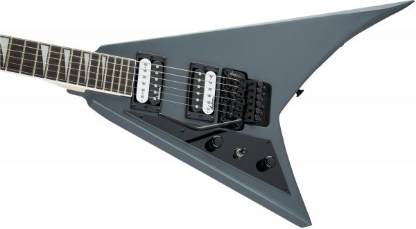 Guitare électrique solid body Jackson Rhoads JS32 LH Gaucher - satin gray