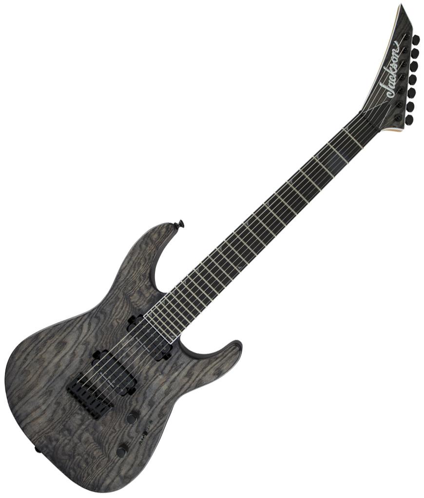 Guitare électrique baryton Jackson Soloist Pro SL7 ...