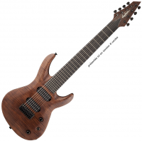 Guitare électrique baryton Jackson USA Select B7MG Deluxe - Walnut stain