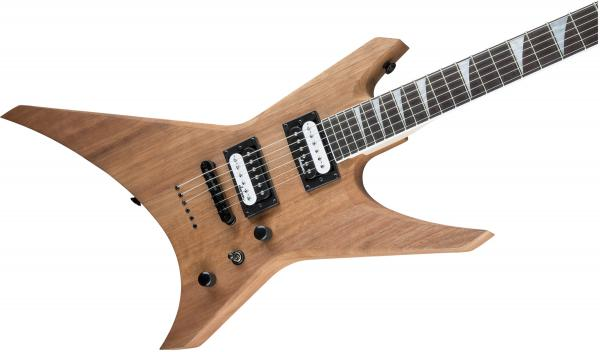 Guitare électrique solid body Jackson Warrior JS32T - natural oil