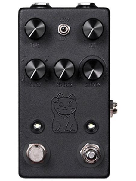 Pédale reverb / delay / echo Jhs Lucky Cat Delay - Black