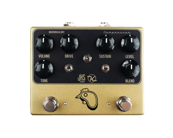 Pédale overdrive / distortion / fuzz Jhs STEAK & EGGS