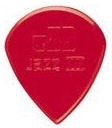 Médiator & onglet Jim dunlop Nylon jazz 47R3N Red
