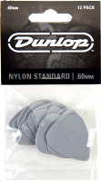 Médiator & onglet Jim dunlop Nylon Standard 44 0.60mm Set (x12 )
