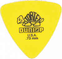 Médiator & onglet Jim dunlop 431R73 Tortex Triangle 0.73mm
