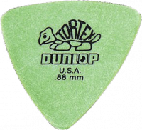 Médiator & onglet Jim dunlop 431R88 Tortex Triangle 0.88mm
