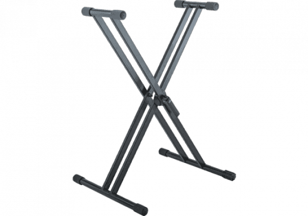 Stand & support clavier K&m 18993 Stand Clavier d'armature, Noir
