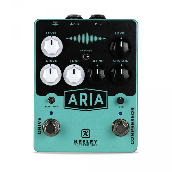 Pédale overdrive / distortion / fuzz Keeley  electronics Aria Drive Compressor