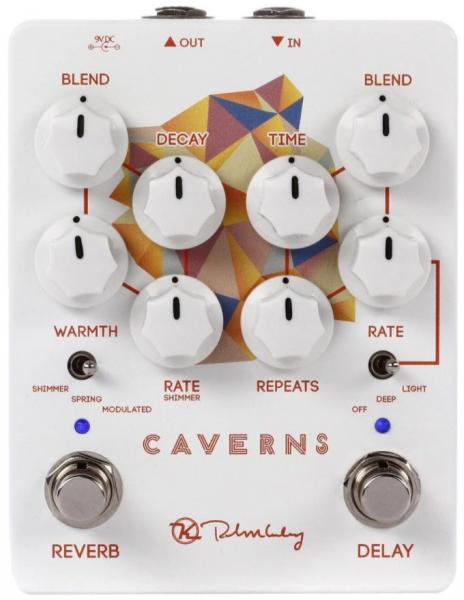 Pédale reverb / delay / echo Keeley  electronics Caverns Delay Reverb V2