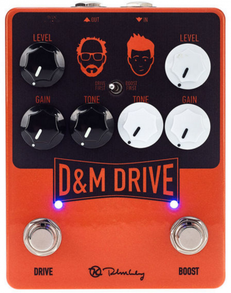 Pédale overdrive / distortion / fuzz Keeley  electronics D&M Drive & Boost