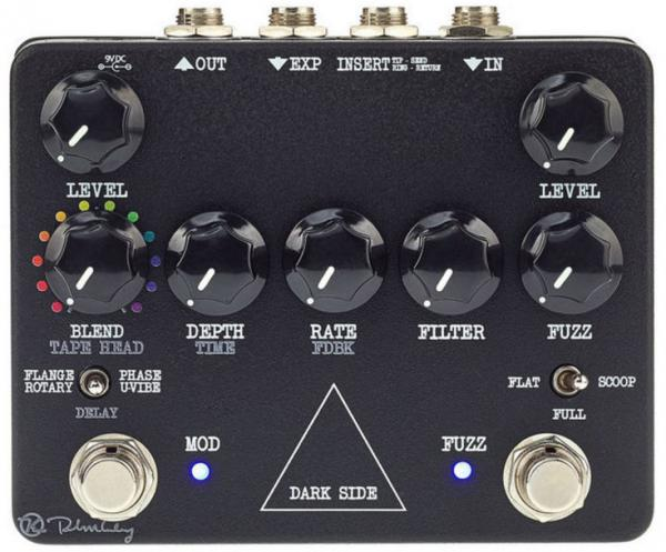 Multi effet guitare élec. en pédalier Keeley  electronics Dark Side Fuzz Delay Modulation