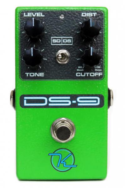 Pédale overdrive / distortion / fuzz Keeley  electronics DS-9
