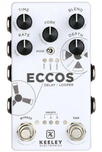 Pédale reverb / delay / echo Keeley  electronics ECCOS Delay Looper