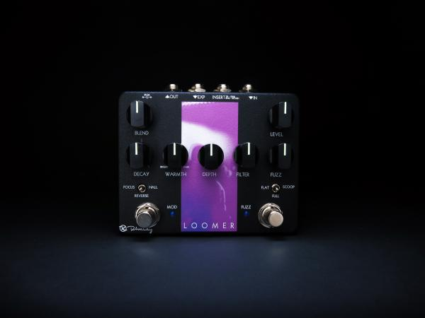Pédale overdrive / distortion / fuzz Keeley  electronics Loomer Fuzz & Reverb