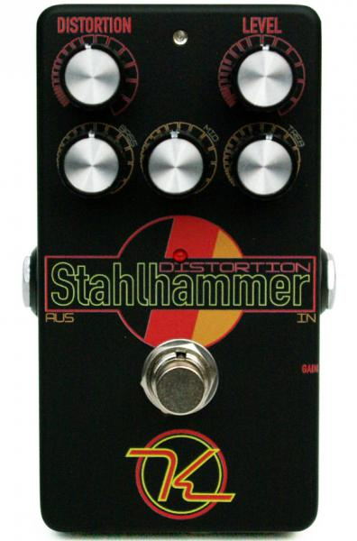 Pédale overdrive / distortion / fuzz Keeley  electronics Stahlhammer Distortion
