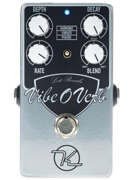 Pédale reverb / delay / echo Keeley  electronics Vibe-O-Verb