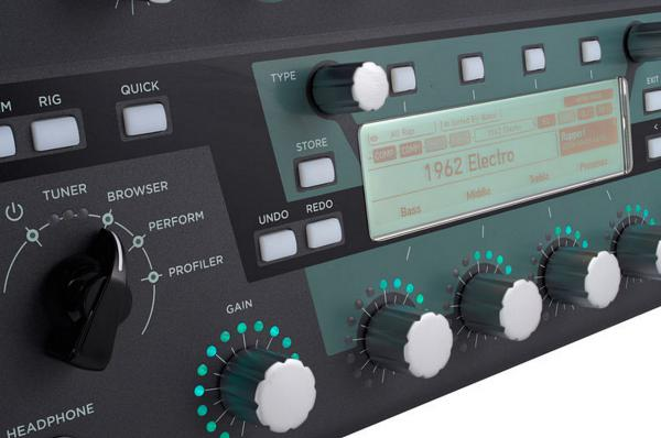 Multi effet guitare élec. rack & autre format Kemper Profiler Head Set w/Remote - Black