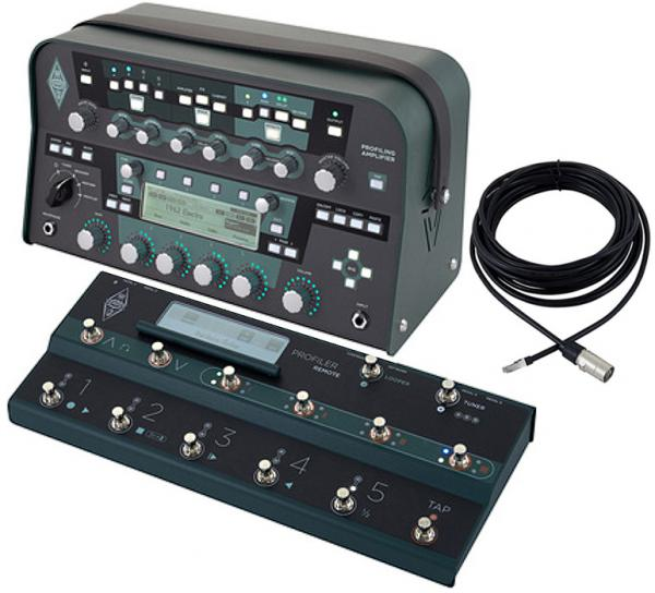 Multi effet guitare élec. rack & autre format Kemper Profiler Power Head Set w/Remote