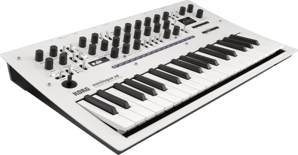Synthétiseur Korg MINILOGUE XD White Pearl