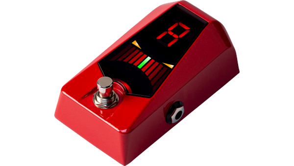 Accordeur en pedale Korg Pitchblack Advance Pedal Tuner - Red