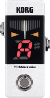 Accordeur en pedale Korg Pitchblack Mini - White