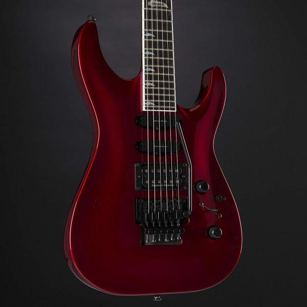 Guitare électrique solid body Kramer SM-1 Seymour Duncan - candy red