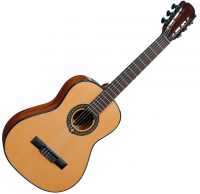 Guitare classique format 3/4 Lag Occitania OC66-3 - Naturel brillant