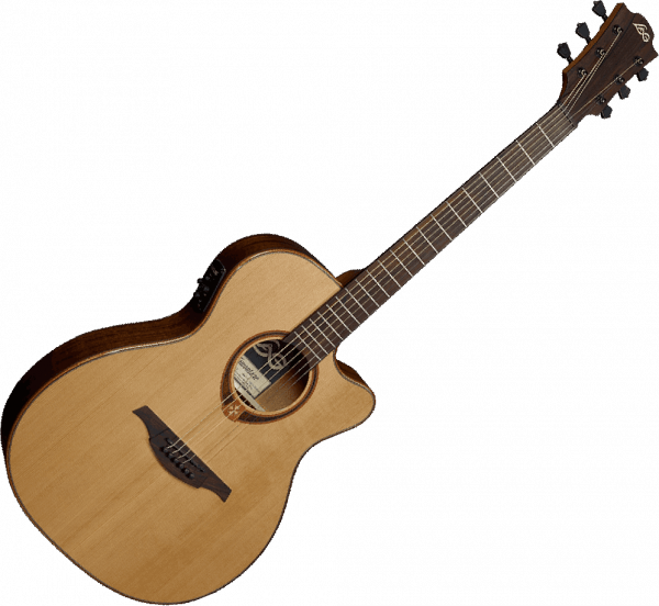 Guitare folk Lag Tramontane T118ACE - natural