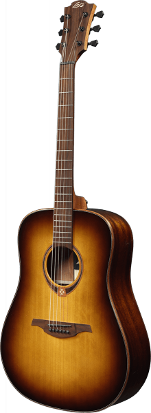 Guitare folk Lag T118D Tramontane - brown shadow