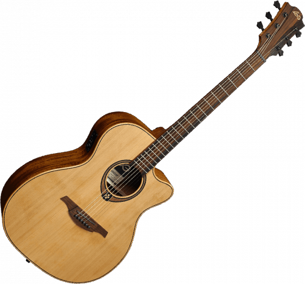 Guitare folk & electro Lag T170ACE Tramontane - natural