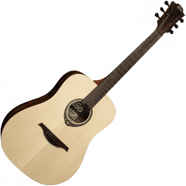 Guitare folk & electro Lag Tramontane T270D - natural - natural