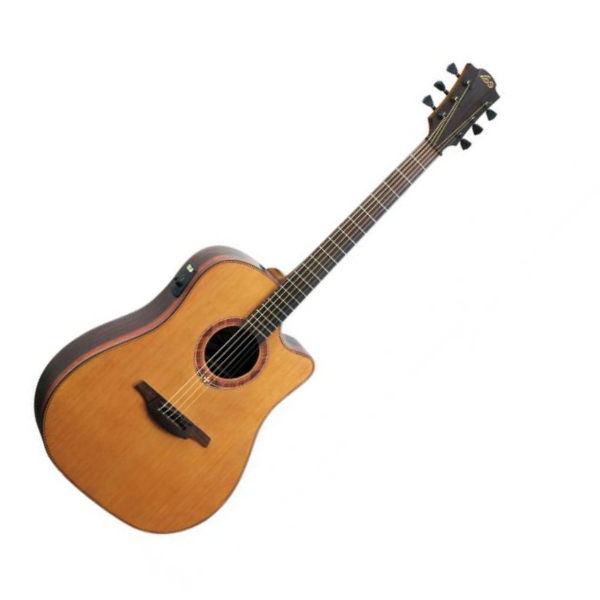 Art Et Lutherie Americana Dreadnought Qit: Guitare Folk Lag T333DCE-G Tramontane (Stock B)
